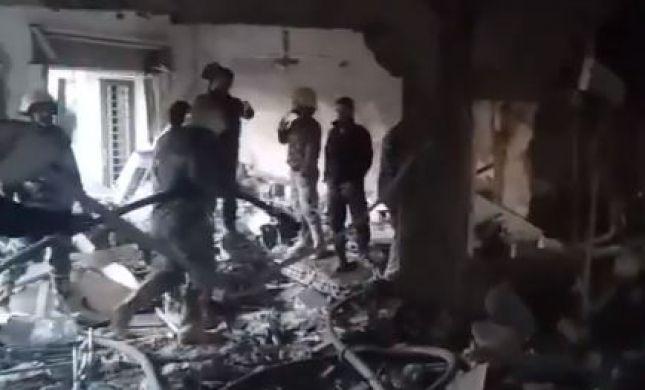 צפו: ביתו של בכיר הג'יהאד האסלאמי שהותקף בדמשק