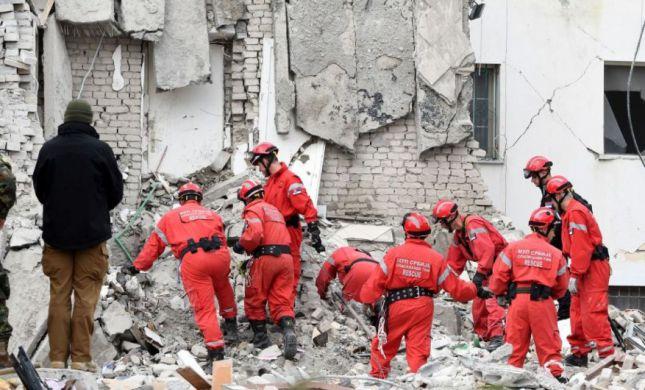 אסון באלבניה: 26 הרוגים ו-650 פצועים ברעידת אדמה