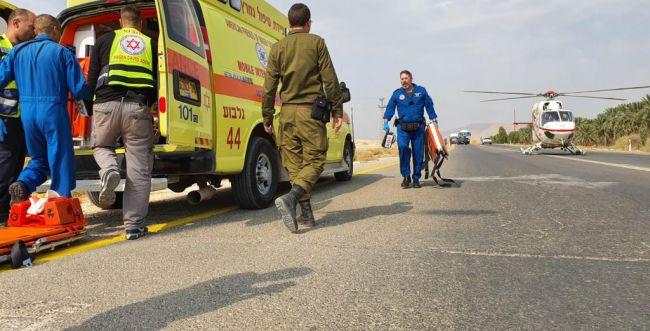 בקעת הירדן: פיצוץ פגז במחסן זיקוקים; 2 פצועים בינוני
