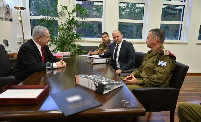 שר הביטחון בנט הכריז על מצב חירום בעוטף עזה