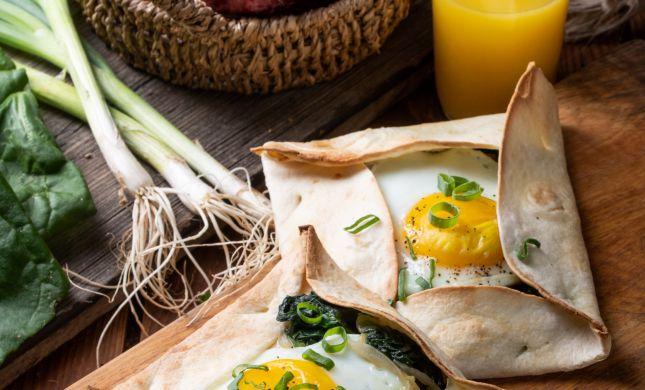 טעים להכיר: מתכון לביצה בטורטייה שתשמחו לאמץ