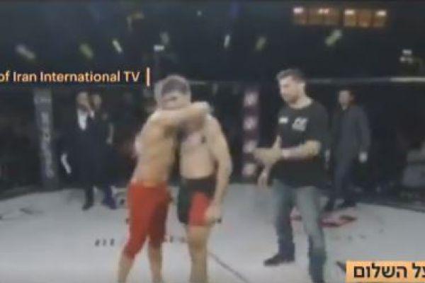 חיבוק ישראלי איראני בזירה: הלוחם מספר מה קרה