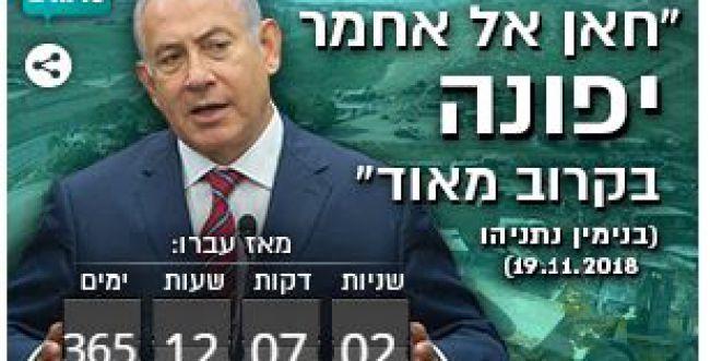 """שנה מאז ההבטחה לפינוי """"בקרוב"""" של חאן אל אחמר"""