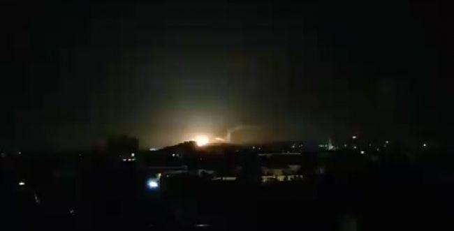 אש ופיצוצים: כך תקף חיל האוויר בסוריה. תיעוד