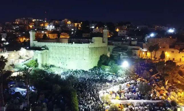 תיעוד ענק: 45 אלף איש בשבת חברון