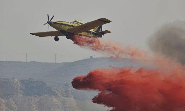 גל שריפות בכל הארץ; צוותי כיבוי נאבקים בלהבות. צפו
