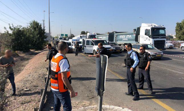 3 פצועים מנפילת רקטה סמוך לאשדוד
