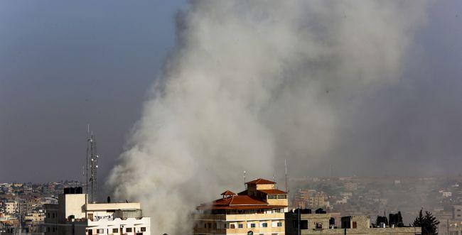"""צה""""ל החל לתקוף יעדים של הג'יהאד האסלאמי ברצועה"""