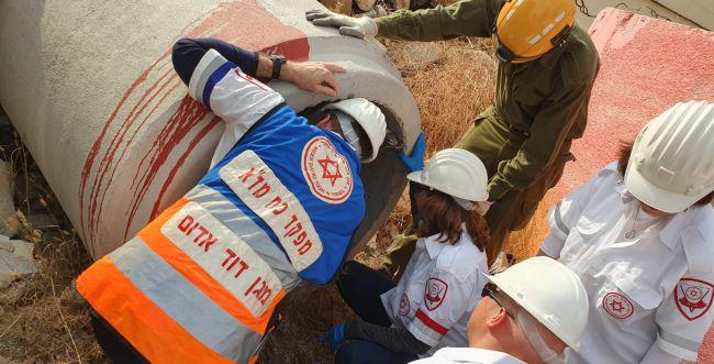 ה-41 מתחילת השנה: פועל בניין נהרג בתאונת עבודה