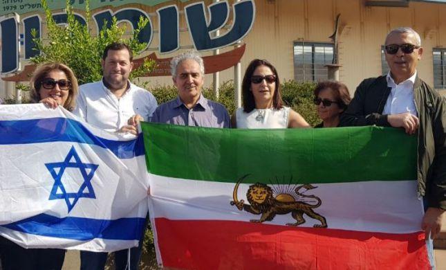 """איראנים בשומרון: """"מעריצים את את מדינת ישראל"""""""