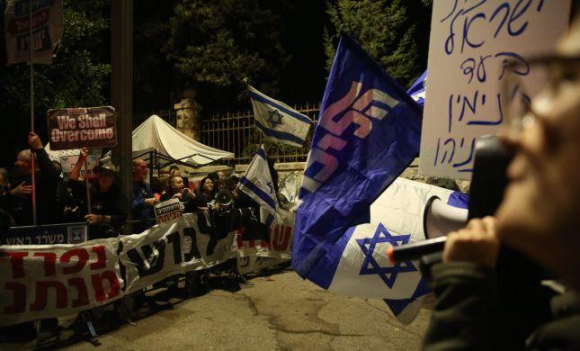 """בת""""א וירושלים: עוד הפגנות בעד ונגד נתניהו • צפו"""