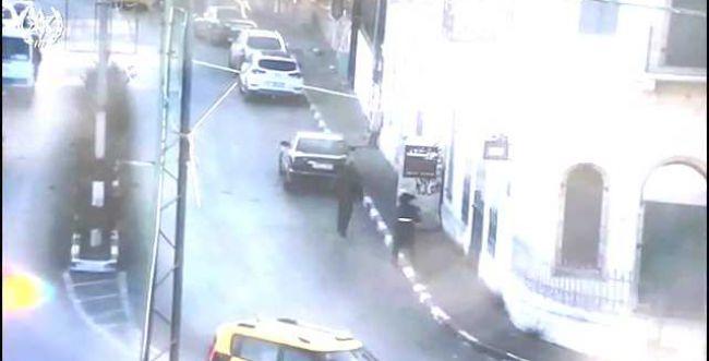 צפו: כך נעצרו ערבים שיידו אבנים על שוטרים בבית לחם