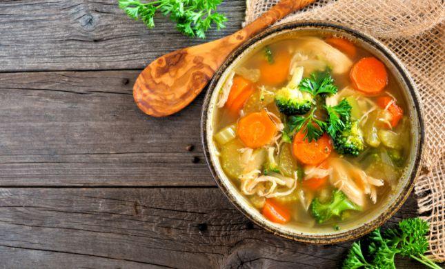 חיסון בריא לחורף: מתכון למרק ירקות מנצח