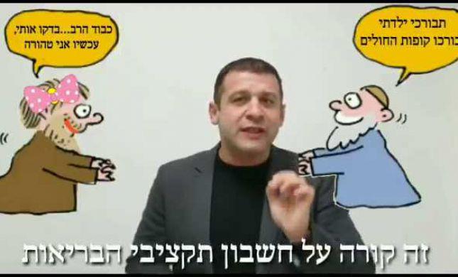 """צפו: סרטון הגועל המשסה של הח""""כ מישראל ביתנו"""