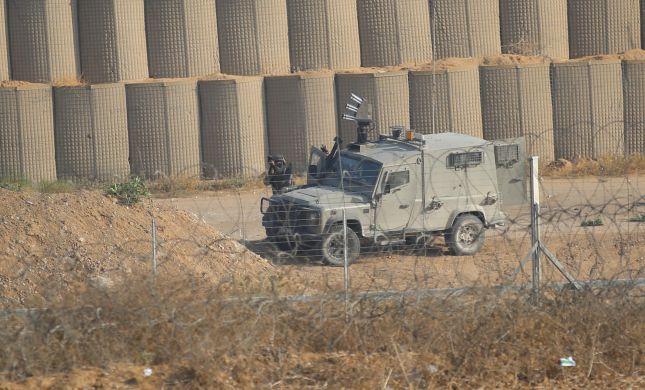 """גבול עזה: צה""""ל פגע במחבל חמוש שניסה לחדור לישראל"""