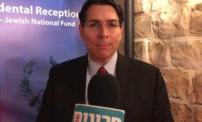 """שגריר ישראל באו""""ם: """"לגנות את הירי מרצועת עזה"""""""