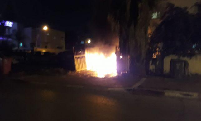 פשע שנאה ברמלה: ערבים הציתו רכב של תושב סרוג