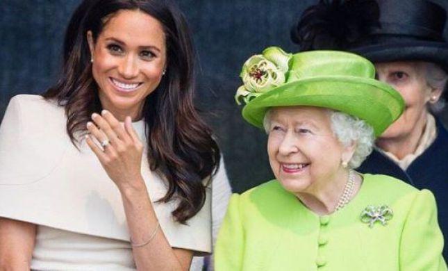 איפה מייגן והארי? המלכה אליזבת יוצאת בצעד חריג
