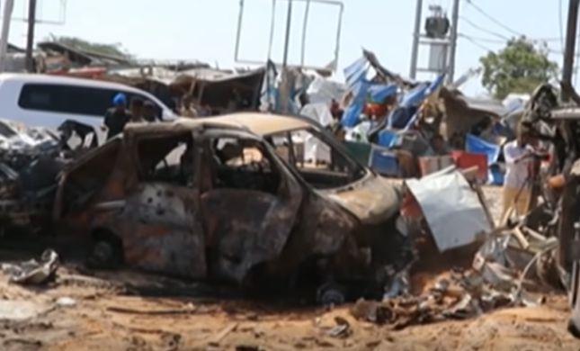 פיגוע ענק בסומליה: לפחות 90 הרוגים ומאות פצועים