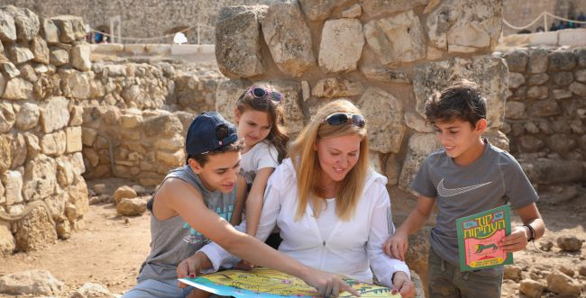מרחבי בריחה אל העבר – שבוע המורשת בישראל
