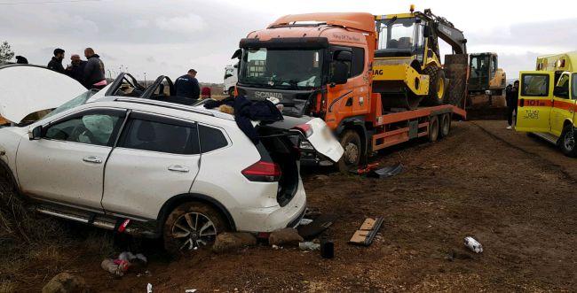 תאונה חזיתית בגולן: בת 40 נהרגה; בת 14 במצב אנוש