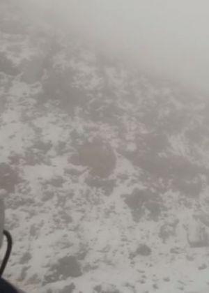 מרחק נגיעה: השלג מתקרב לחרמון. צפו