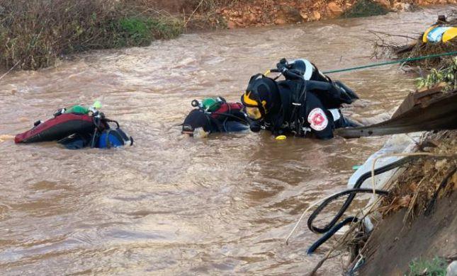 מזג האוויר גובה מחיר: גופת נער אותרה בנחל בצפון