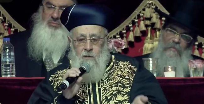 """הרב יוסף: """"הגעתי לחוג לתנ""""ך, מי שם? כיפות בנט"""""""