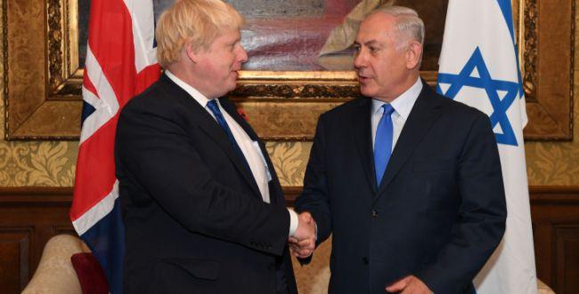 """נתניהו ברך את ג'ונסון: """"ניצחון על האנטישמיות"""""""