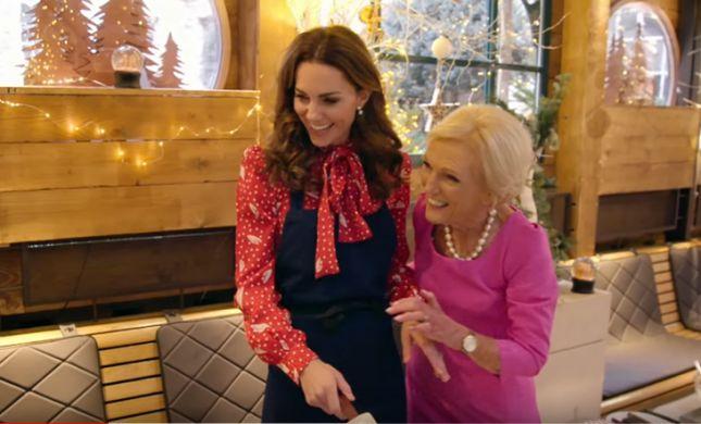 צפו: קייט מידלטון חושפת סודות מהמטבח המלכותי