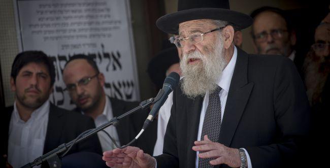 """ביזוי הרב שטרן: שר הדתות נזף ביו""""ר המועצה הדתית"""
