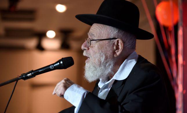 הרב דב ליאור: למחות נגד הקפאת הבנייה בירושלים