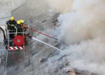 שני לכודים חולצו משריפה באזור התעשיה תלפיות
