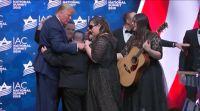 מופע, תרבות מרגש: כשהנשיא טראמפ פגש את להקת שלוה. צפו