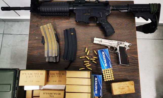 כלי נשק לא חוקיים נתפסו בכפרים פלסטיניים