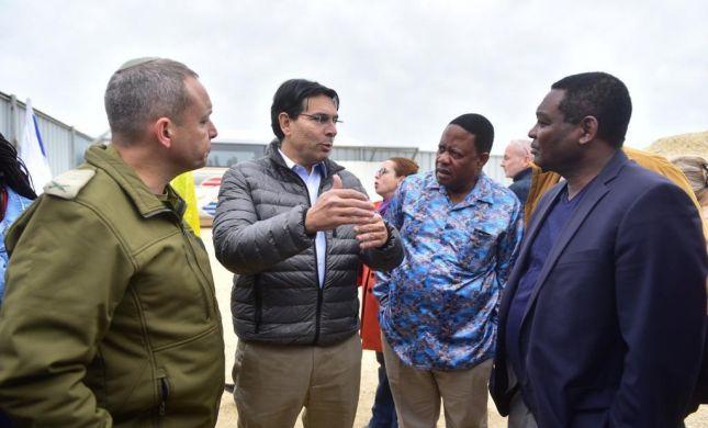 שגרירי או״ם ביקרו בגזרה הדרומית ובכיפת ברזל