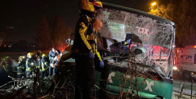 תאונת האוטובוס הקטלנית: הנהג שוחרר למעצר בית
