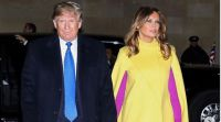 אופנה וסטייל, סרוגות הטרנד הבא? מלניה טראמפ בשילוב צבעים הזוי במיוחד