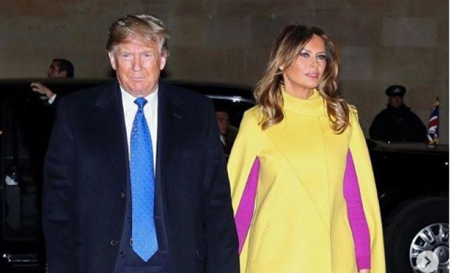 הטרנד הבא? מלניה טראמפ בשילוב צבעים הזוי במיוחד