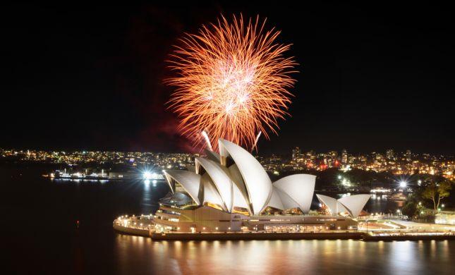 אחרי ניו זילנד: אוסטרליה פותחת את 2020 בזיקוקים