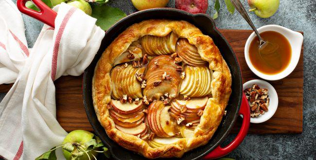 פתרון מתוק לסופה: מתכון לגאלט תפוחים ואגוזים