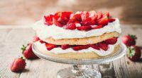 אוכל, מתכונים חלביים החיים שלנו תותים: העוגה המושלמת לעונה
