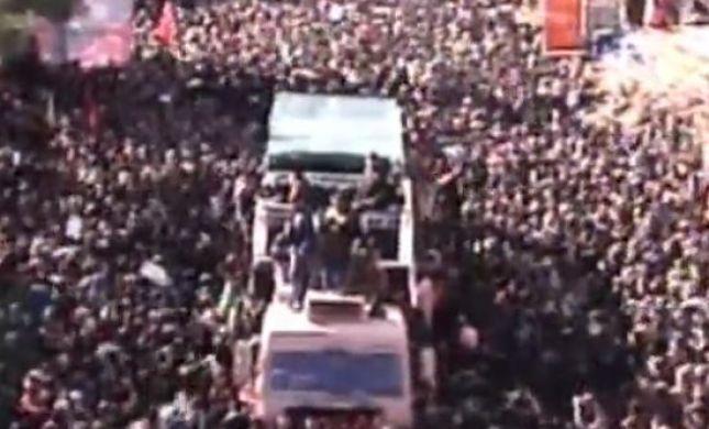 נמחצו למוות: 35 הרוגים בהלוויית סולמאני באיראן
