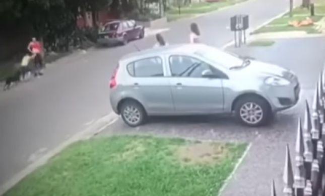 צפו: פרץ לביתה של לוחמת קיקבוקס - ונבעט החוצה