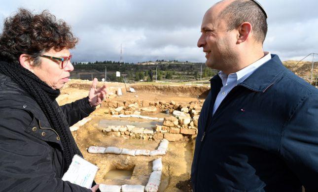 """בנט בבנימין: """"נבלום את הבנייה הפלסטינית"""""""