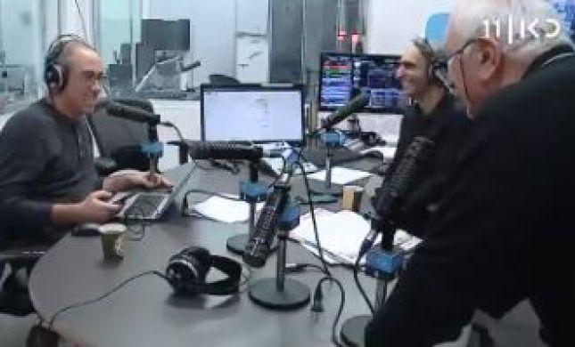 צפו: אריה גולן חזר לשידור להגיב לקלמן וליברמן