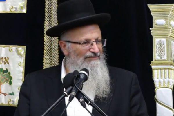 הרב שמואל אליהו: הלכות ייחוד. צפו