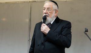 הרבנות הראשית לישראל, יהדות עם החיסונים: הרב ישראל מאיר לאו נדבק בקורונה
