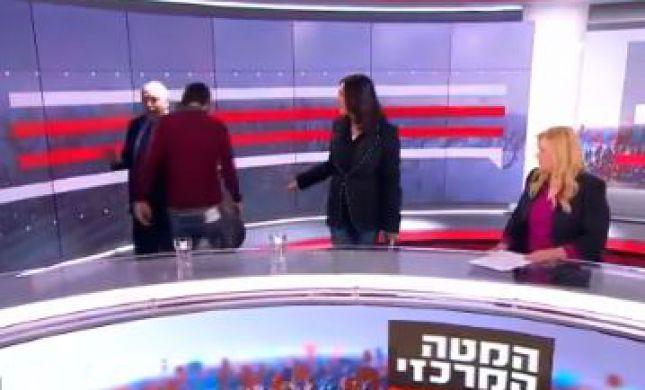 צפו: אביגדור ליברמן בהערה מכוערת למירי רגב