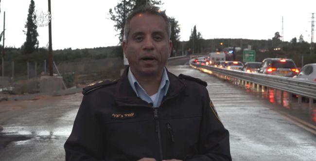 צפו: הנחיות משטרת התנועה לקראת שיא הסערה